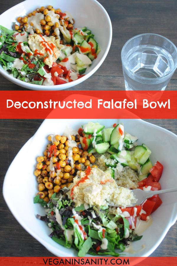 Deconstructed -Falafel-Bowls