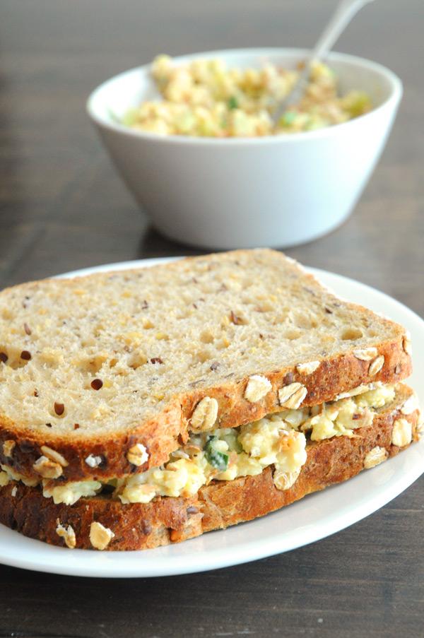 Vegan Almond Tuna Salad | Vegan Recipes from Cassie Howard