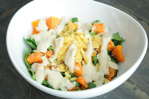 Salad with Sweet Potato