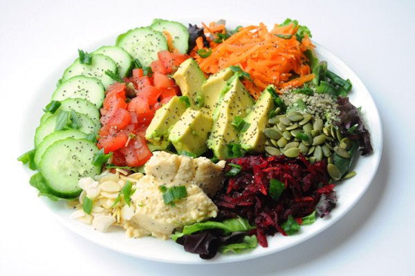Vegan-Salad-Plate