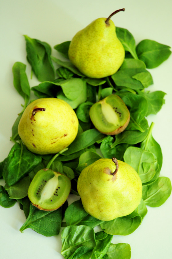 Pears-Spinach