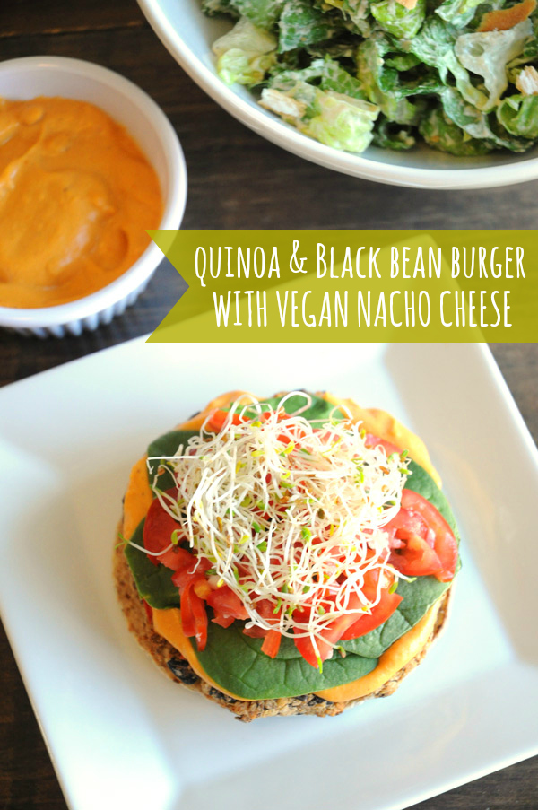 Quinoa-Black-Bean-Burger-Vegan