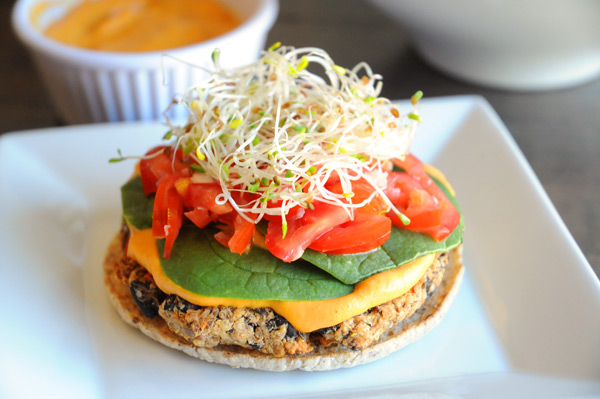 Quinoa-Black-Bean-Burger