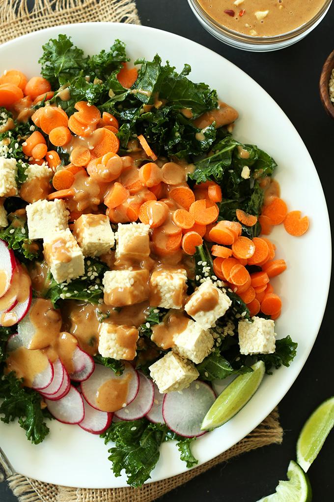 Crunchy Kale Salad Pic