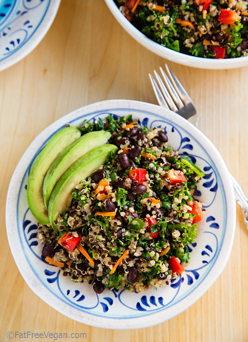 Kale & Quinoa Salad Pic