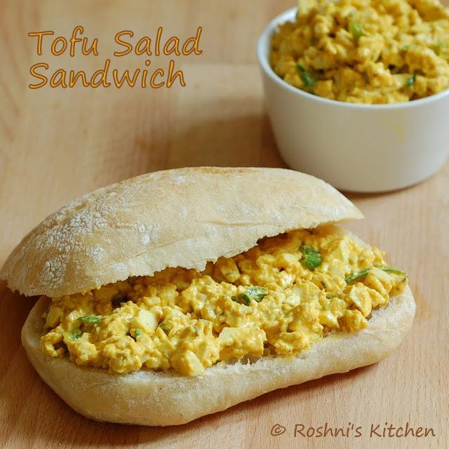 Tofu Salad Sandwich Pic