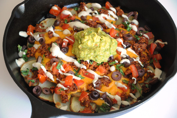 Vegan-Skillet-Potato-Nachos
