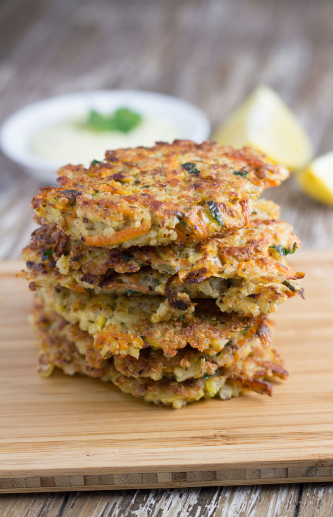Quinoa Fritters Pic