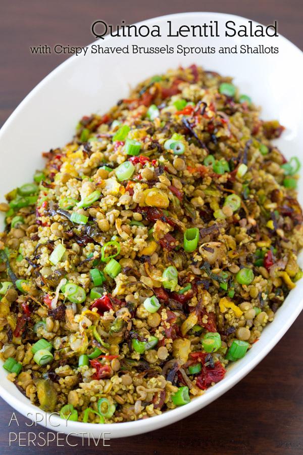 Quinoa Lentil Salad Pic