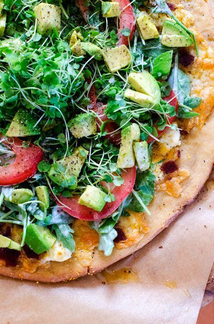 Quinoa Pizza Crust Pic