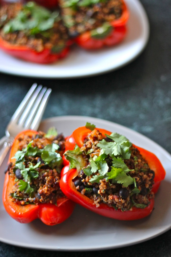 Quinoa Stuffed Peppers Pic