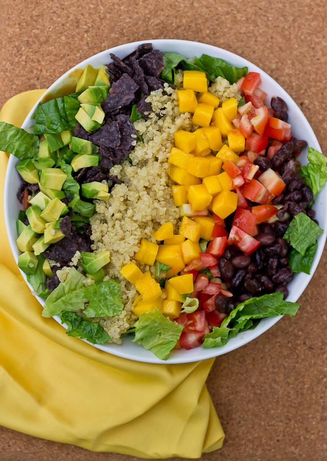 Quinoa Taco Salad Pic