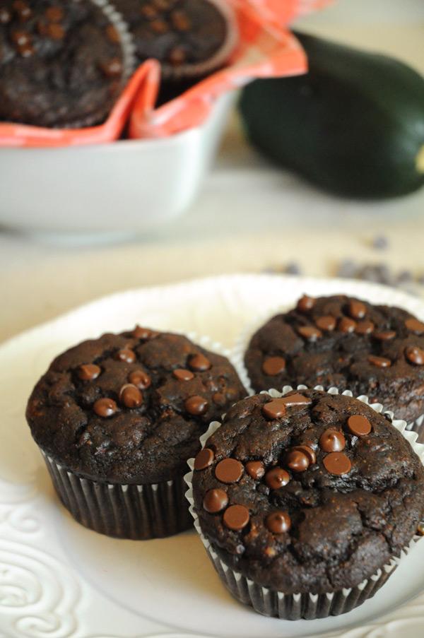 Rich-Zucchini-Muffins