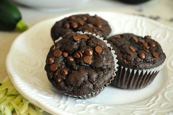 Vegan-Chocolate-Zucchini-Muffins