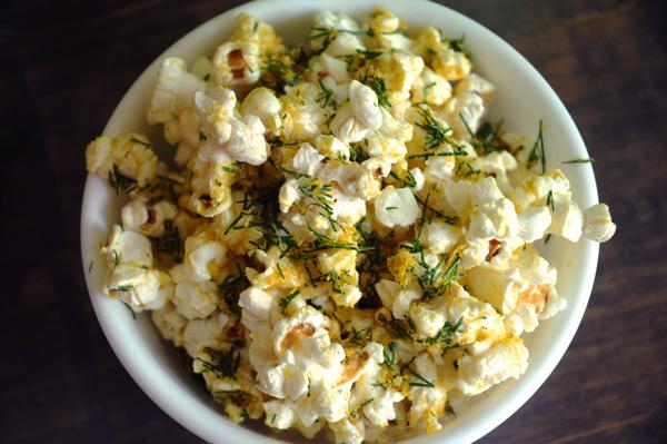 cheese-dill-popcorn