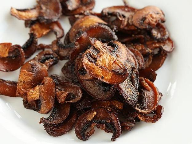Mushroom Bacon Pic