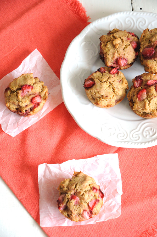 Strawberry-Muffins-Vegan