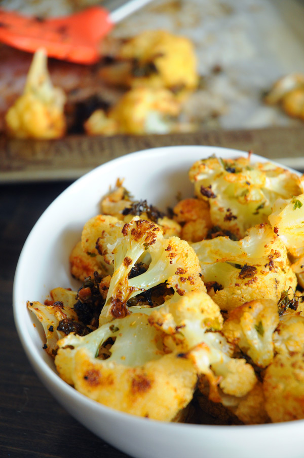 Vegan-Spicy-Roasted-Cauliflower