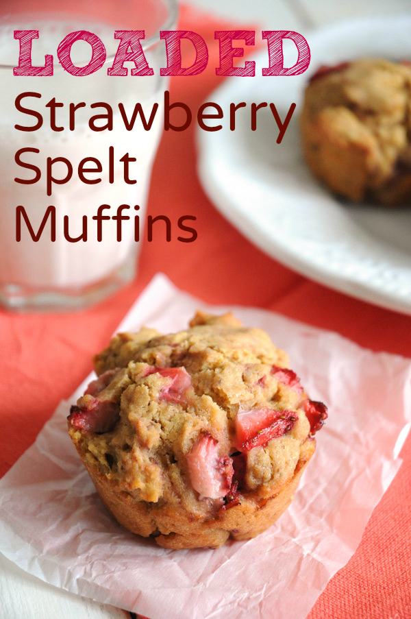 Vegan-Strawberry-Muffins