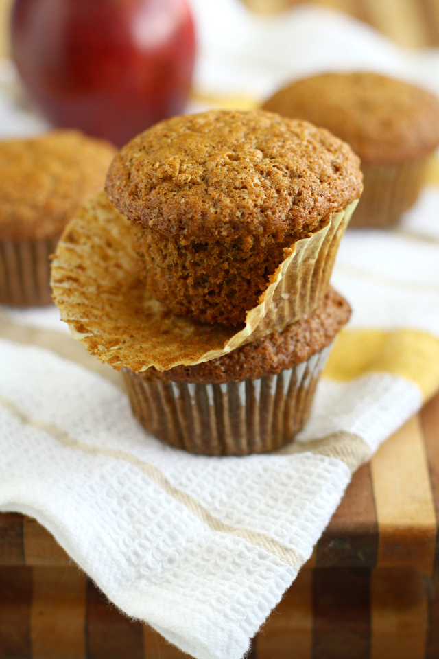 Applesauce Muffins Pic