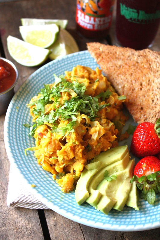 Mexican Chickpea Scramble Pic