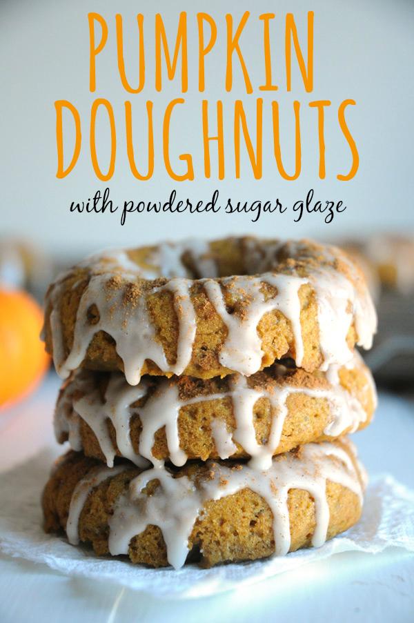 Pumpkin-Doughnuts-Vegan