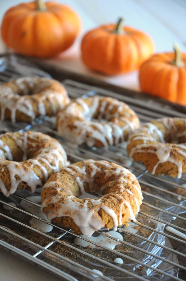Pumpkin-Doughnuts