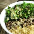 Quinoa-Lentils-Greens
