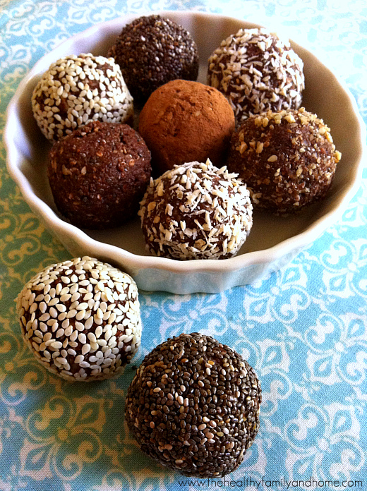 Raw Protein Balls Pic
