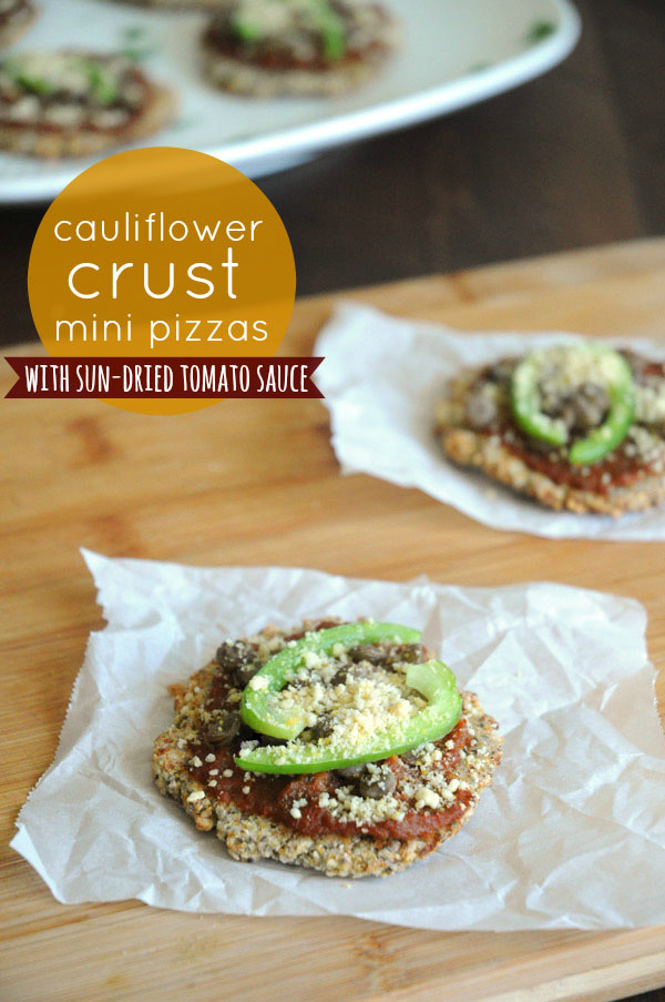 Cauliflower-Crust-Pizzas