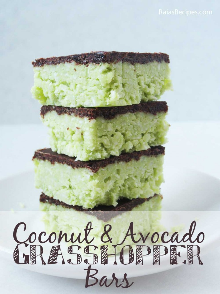 Coconut Avocado Bars Pic