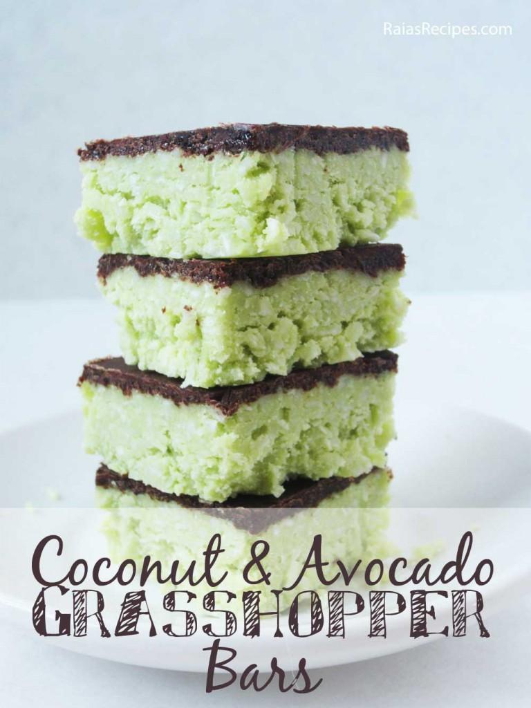 Coconut Avocado Bars Pic