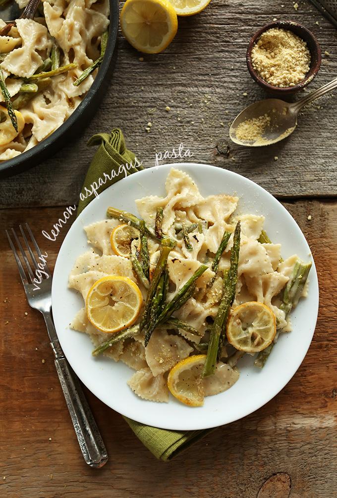 Lemon Asparagus Pasta Pic
