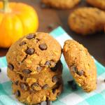 Pumpkin-Oat-Chocolate-Chip-Cookies-Vegan