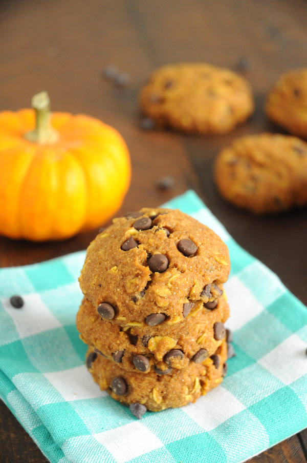 Pumpkin-Oatmeal-Chocolate-Chip-Cookies