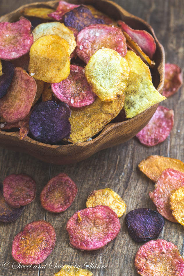 Roasted Beet Chips Pic