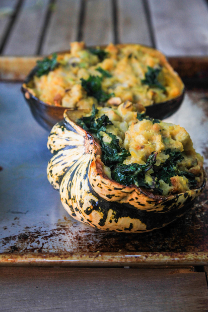 Stuffed Buttercup Squash Pic
