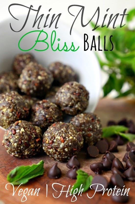 Thin Mint Bliss Balls