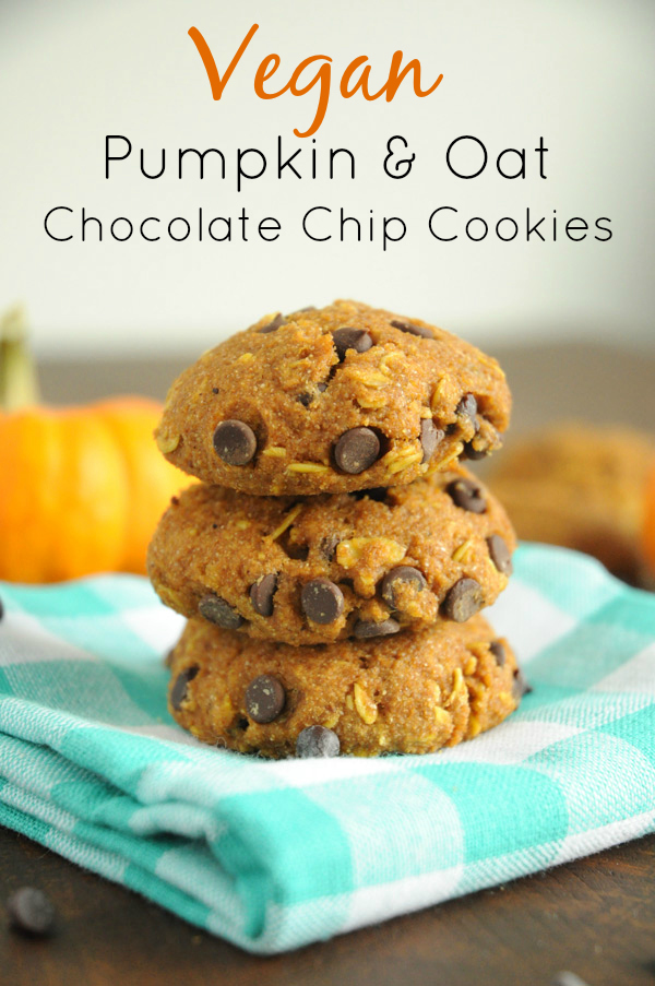 Vegan-Pumpkin-Oat-Chocolate-Chip-Cookies