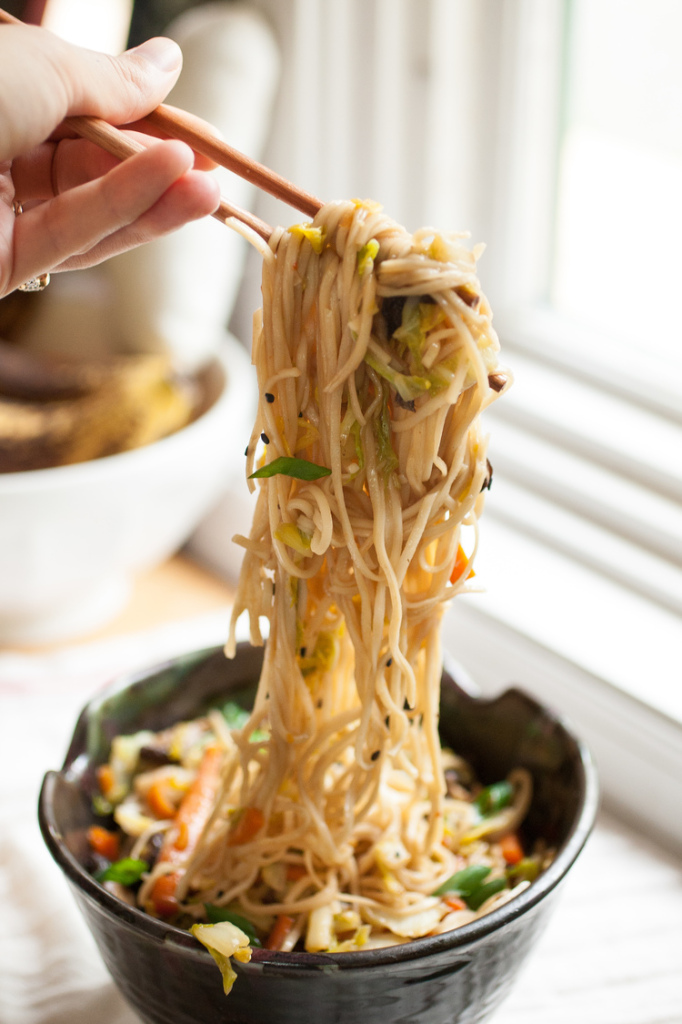 Vegetable Chow Mein Pic