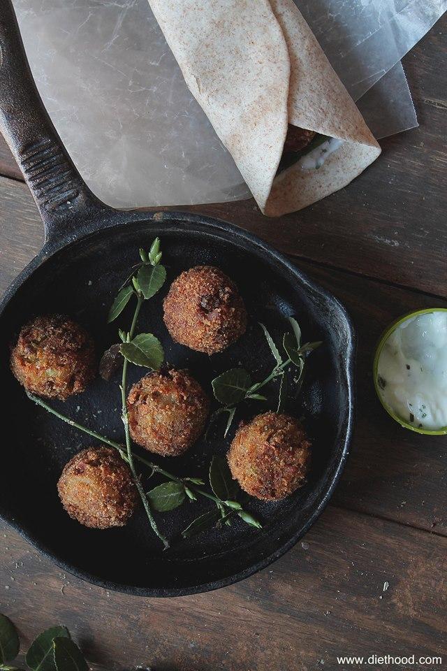 Veggie Meatballs Pic